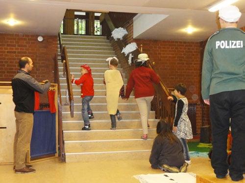 Theaterprojektwoche in der EFöB an der Peter-Frankenfeld-Schule