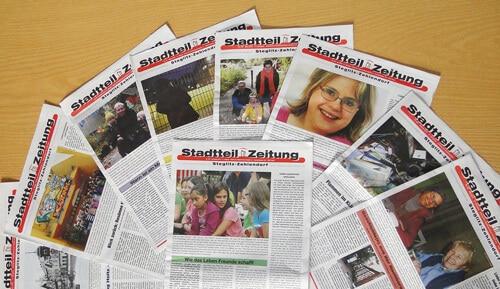 Vom Nachbarschaftsboten zur Stadtteilzeitung