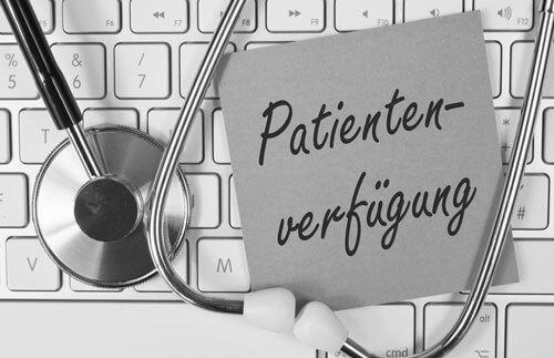 Patientenverfügung + Testament