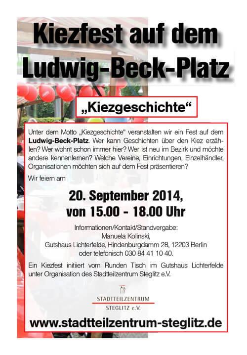 """""""Kiezgeschichte"""" – Fest auf dem Ludwig-Beck-Platz"""
