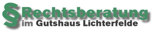 Rechtsberatung im Gutshaus Lichterfelde