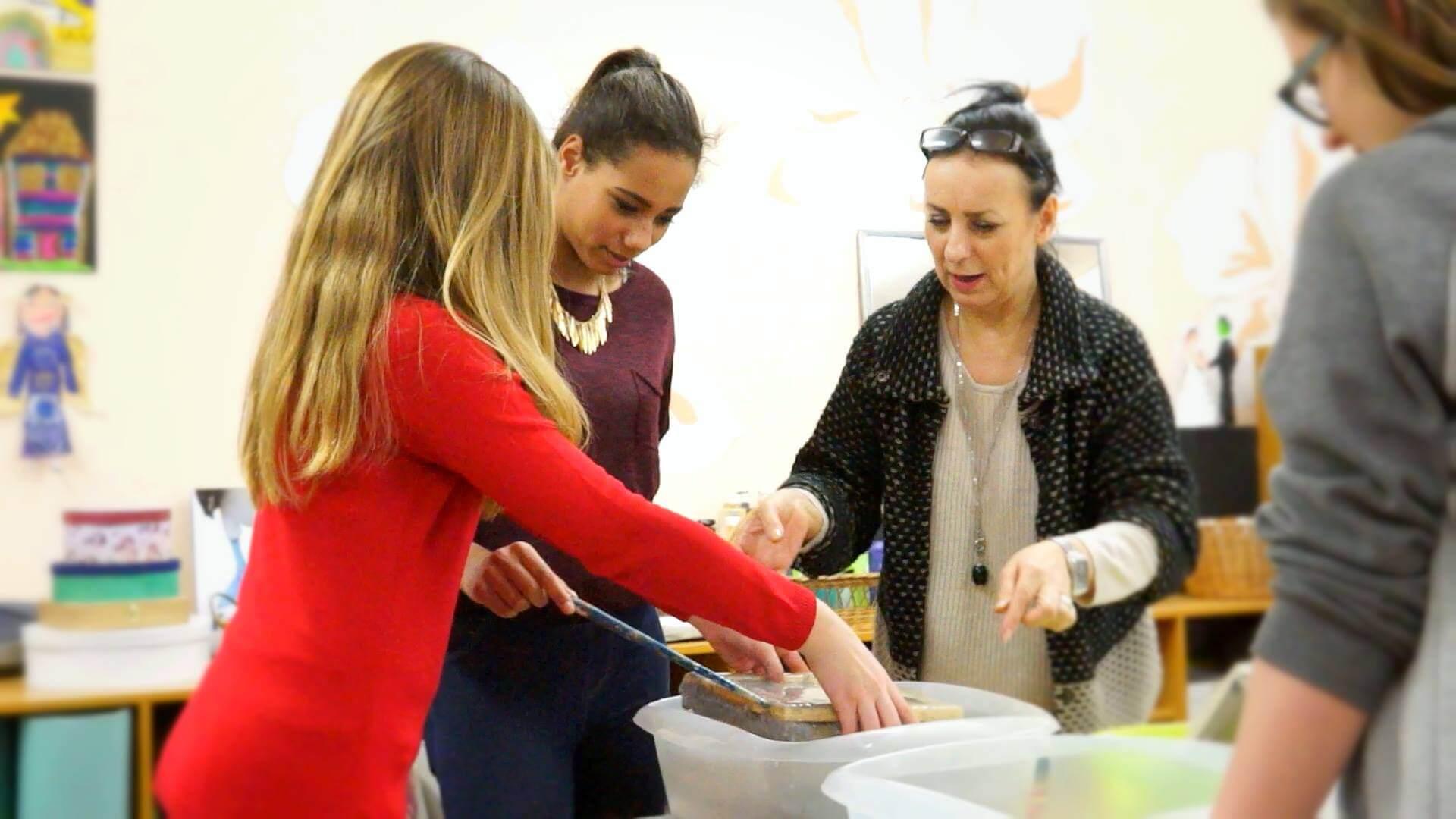 Papier-Projekte im Kinder- und Jugendhaus Immenweg