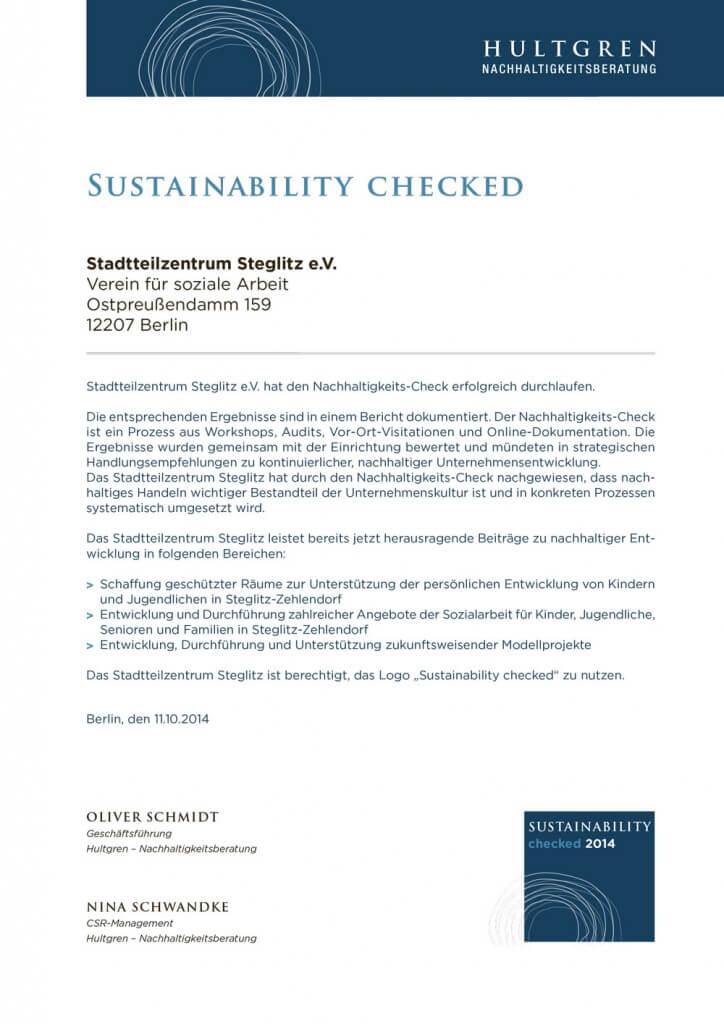 Nachhaltigkeits_Check_Urkunde_SzS_2014