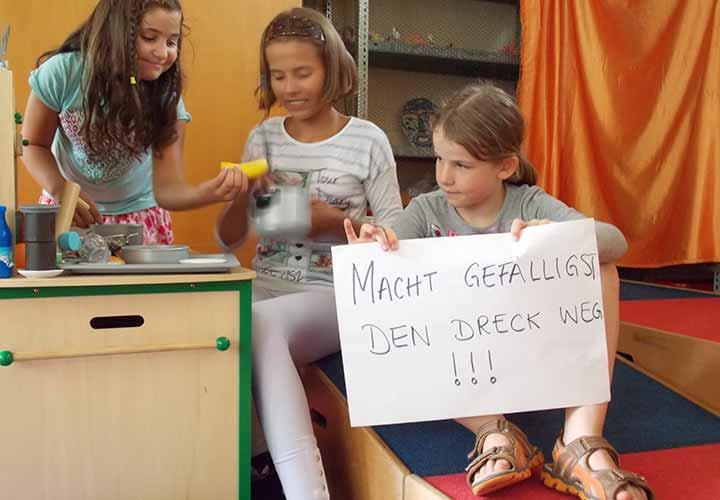 Giraffensprache Grundschule