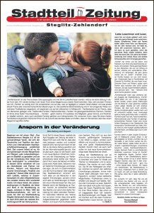 Stadtteilzeitung Steglitz-Zehlendorf April 2016