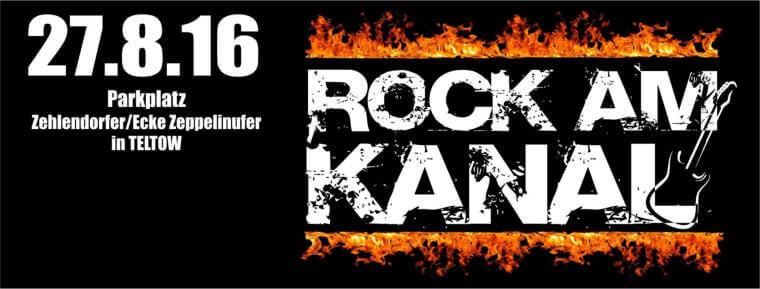 """Warum wir Werbung für """"Rock am Kanal"""" machen"""