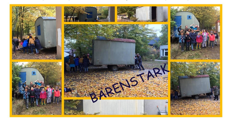 Bärenstark … Zweiter Kurzbericht der Herbstferien