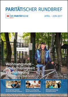 """""""Wohnungsnot – Obdachlosigkeit – Verdrängung"""" – der Paritätische Rundbrief 2/2017"""