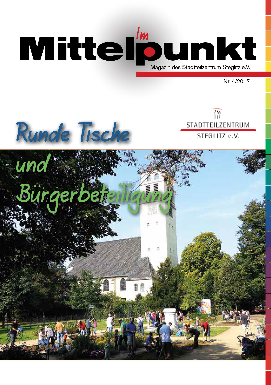 """Das Magazin """"Im Mittelpunkt"""" – Thema """"Runde Tische + Bürgerbeteiligung"""""""
