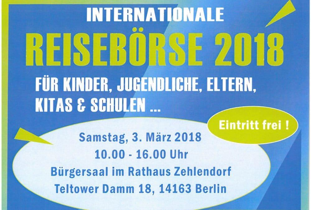 Internationale Kinder-, Jugend- und Familienreisebörse 2018