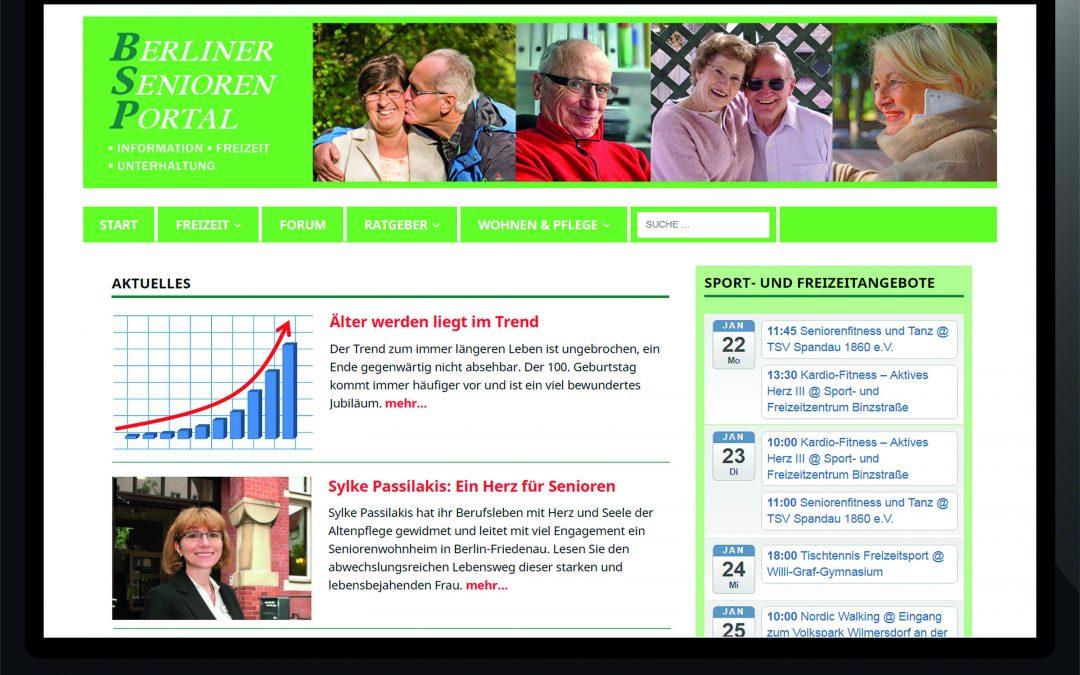 Neues Onlineportal für Berliner Senioren gestartet
