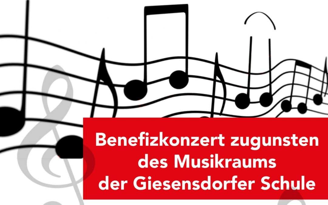 Benefizkonzert zugunsten  des Musikraums  der Giesensdorfer Schule