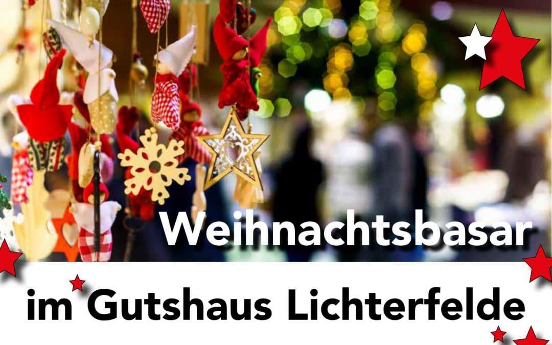 Weihnachtsbasar im Gutshaus Lichterfelde