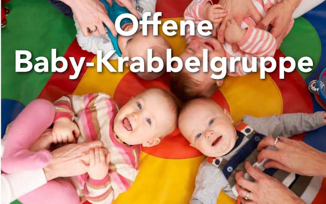 Offene  Baby-Krabbelgruppe