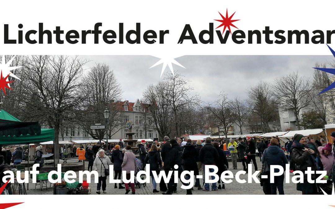 2. Adventsmarkt auf dem Ludwig-Beck-Platz