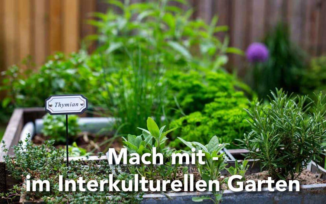 Mach mit – im Interkulturellen Garten