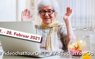 Wettbewerb: #VideochatYourOma – #VideochatYourOpa