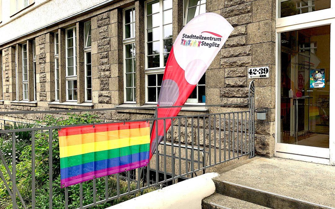 Stellungnahme des Stadtteilzentrum Steglitz e.V. zu der Durchsuchung der Geschäftsräume des Vereins