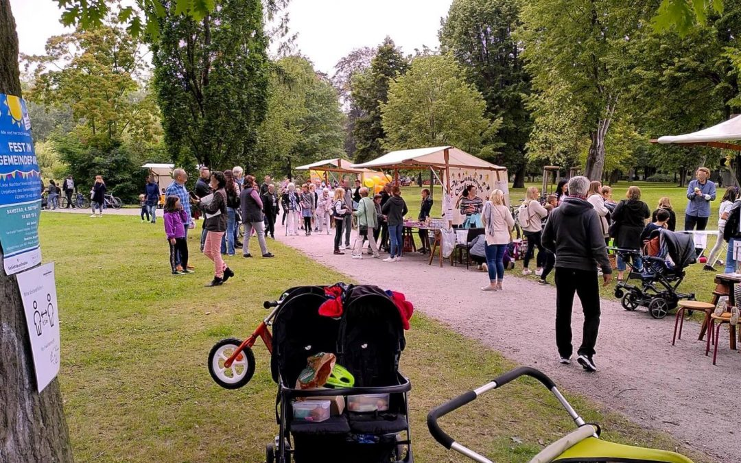 Fest im Gemeindepark Lankwitz