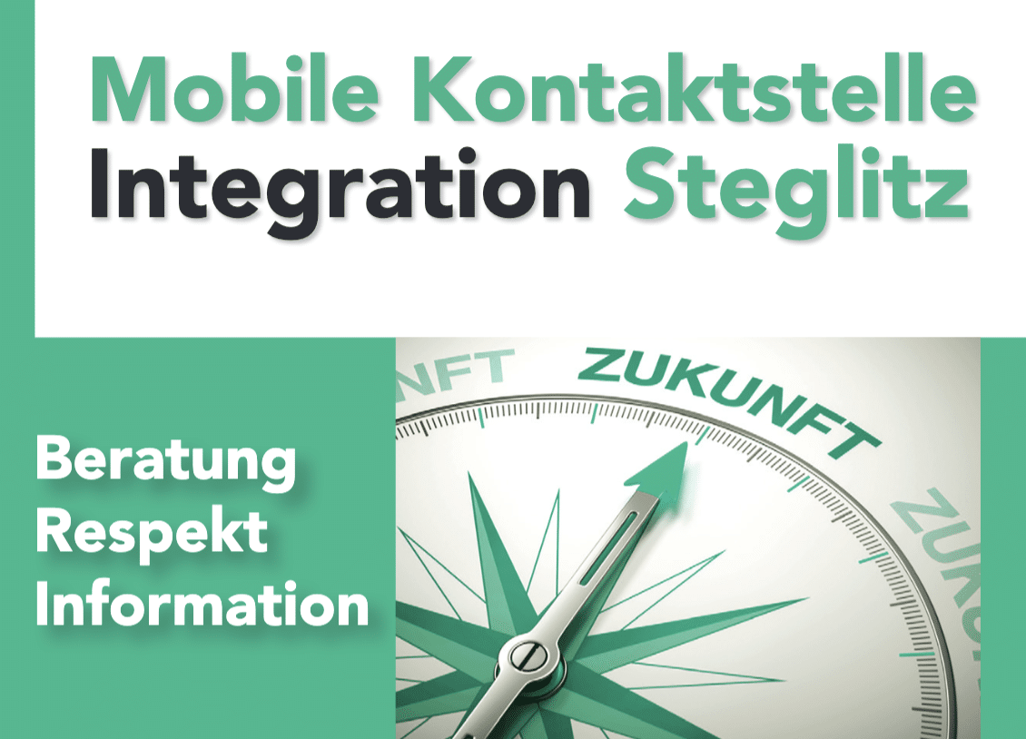 Flyer Mobile KontaktstelleIntegration Steglitz